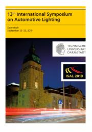 Tran Quoc Khanh (Hrsg.): 13th International Symposium on Automotive Lightning – ISAL 2019 – Proceedings of the Conference