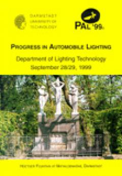 H.-J. Schmidt-Clausen, Department of Lighting Technology, Darmstadt University of Technology (Hrsg.): Progress in Automobile Lighting – PAL '99 – Proceedings of the Conference