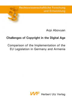 Arpi Abovyan: Challenges of Copyright in the Digital Age