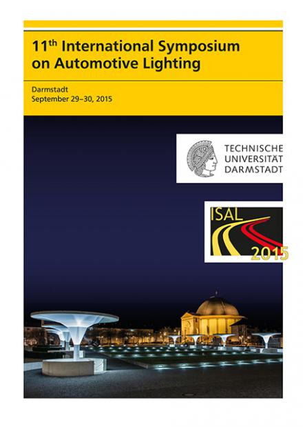 Tran Quoc Khanh (Hrsg.): 11th International Symposium on Automotive Lighting – ISAL 2015 – Proceedings of the Conference