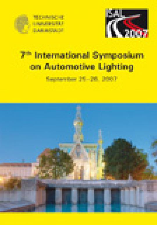 Tran Quoc Khanh: 7th International Symposium on Automotive Lighting – ISAL 2007 – Proceedings of the Conference