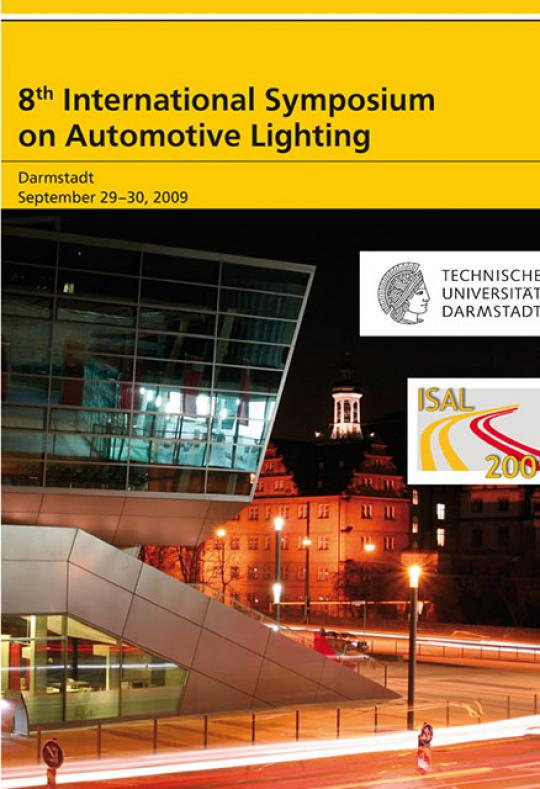 Tran Quoc Khanh (Hrsg.): 8th International Symposium on Automotive Lighting – ISAL 2009 – Proceedings of the Conference