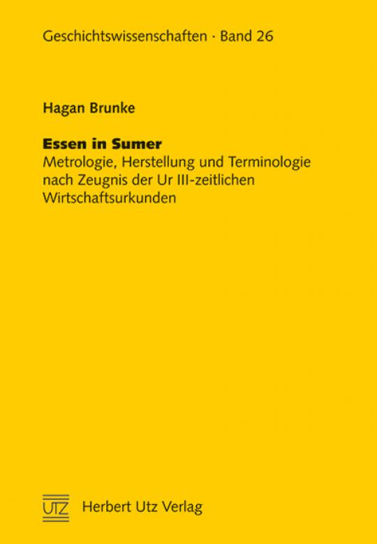 Hagan Brunke: Essen in Sumer