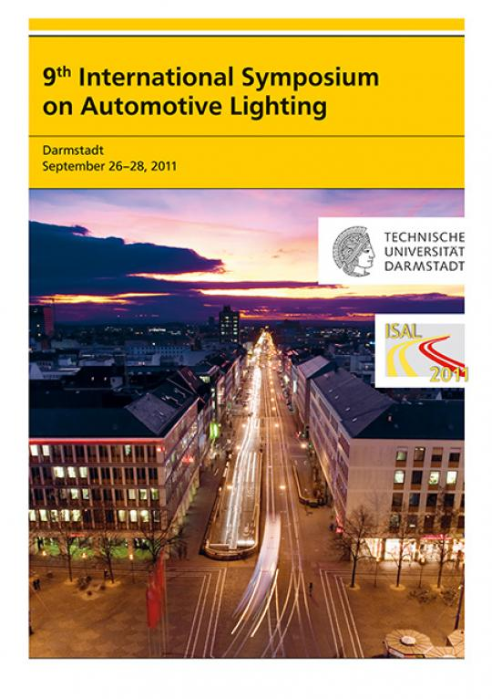 Tran Quoc Khanh (Hrsg.): 9th International Symposium on Automotive Lighting – ISAL 2011 – Proceedings of the Conference