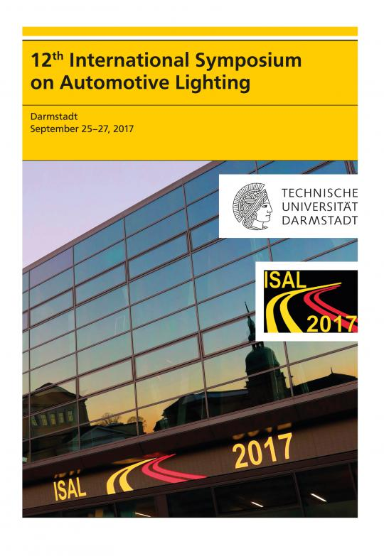 Tran Quoc Khanh (Hrsg.): 12th International Symposium on Automotive Lighting – ISAL 2017 – Proceedings of the Conference